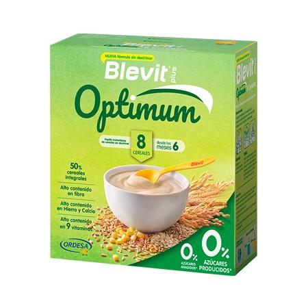 BLEVIT PLUS OPTIMUM 8 CEREALES 1 ENVASE 400 G