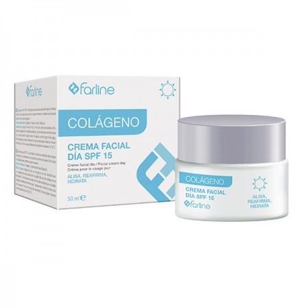 FARLINE CREMA FACIAL COLAGENO DIA SPF15 50 ML