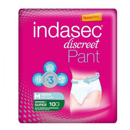INDASEC PANTS SUPER T.MEDIA 10 UDS