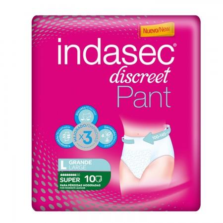 INDASEC PANTS SUPER T.GRANDE 10 UDS