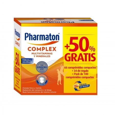 PHARMATON COMPLEX 66 + 34 CAPSULAS PACK PROMOCIONAL