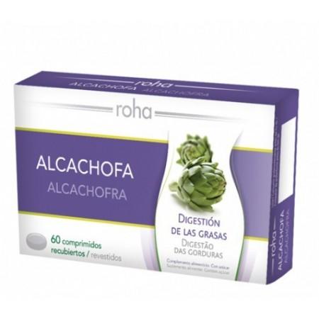 ROHA ALCACHOFA 400 MG 60 COMPRIMIDOS RECUBIERTOS