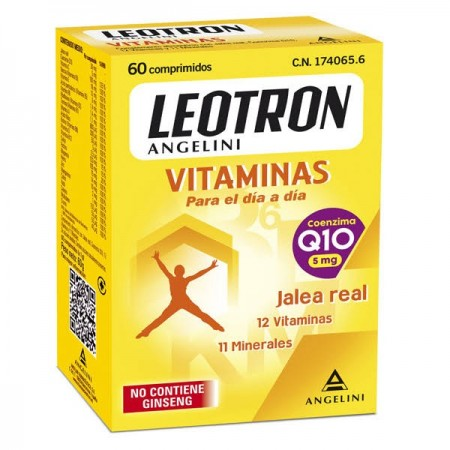 LEOTRON VITAMINAS  60 COMP