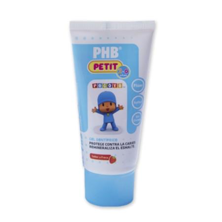 Gel PHB® Petit 75 ml sabor fresa Pocoyo