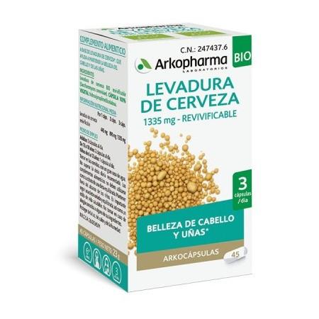 ARKOPHARMA LEVADURA DE CERVEZA 340 MG 45 CAPSULAS