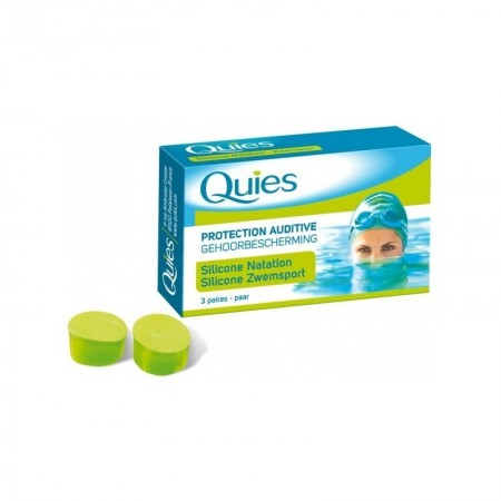 QUIES TAPONES OIDOS SILICONA ESTANDAR 6 U