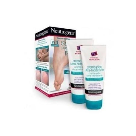 Neutrogena duplo Crema de Pies Ultra-Hidratante 2x100 ml