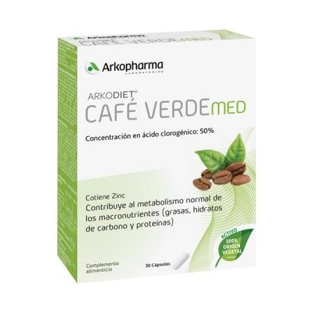 ARKODIET CAFE VERDE MED 800 30 CAPSULAS