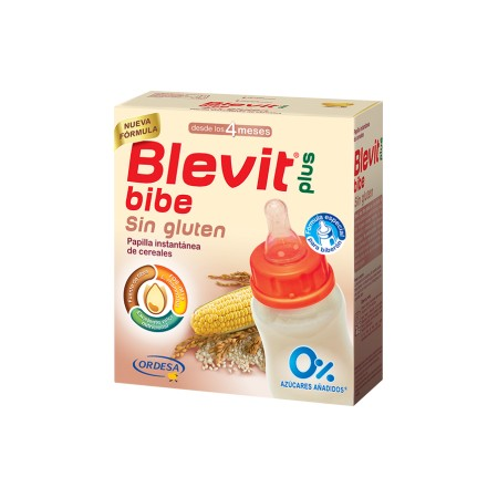 BLEVIT PLUS SIN GLUTEN PARA BIBERON 600 G