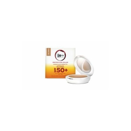 Be+ maquillaje compacto SPF 50+ pieles morenas 10 g